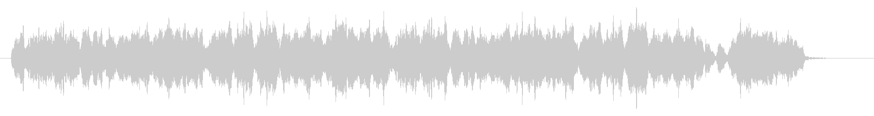 弦楽四重奏のキャッチーなジングルの未再生の波形