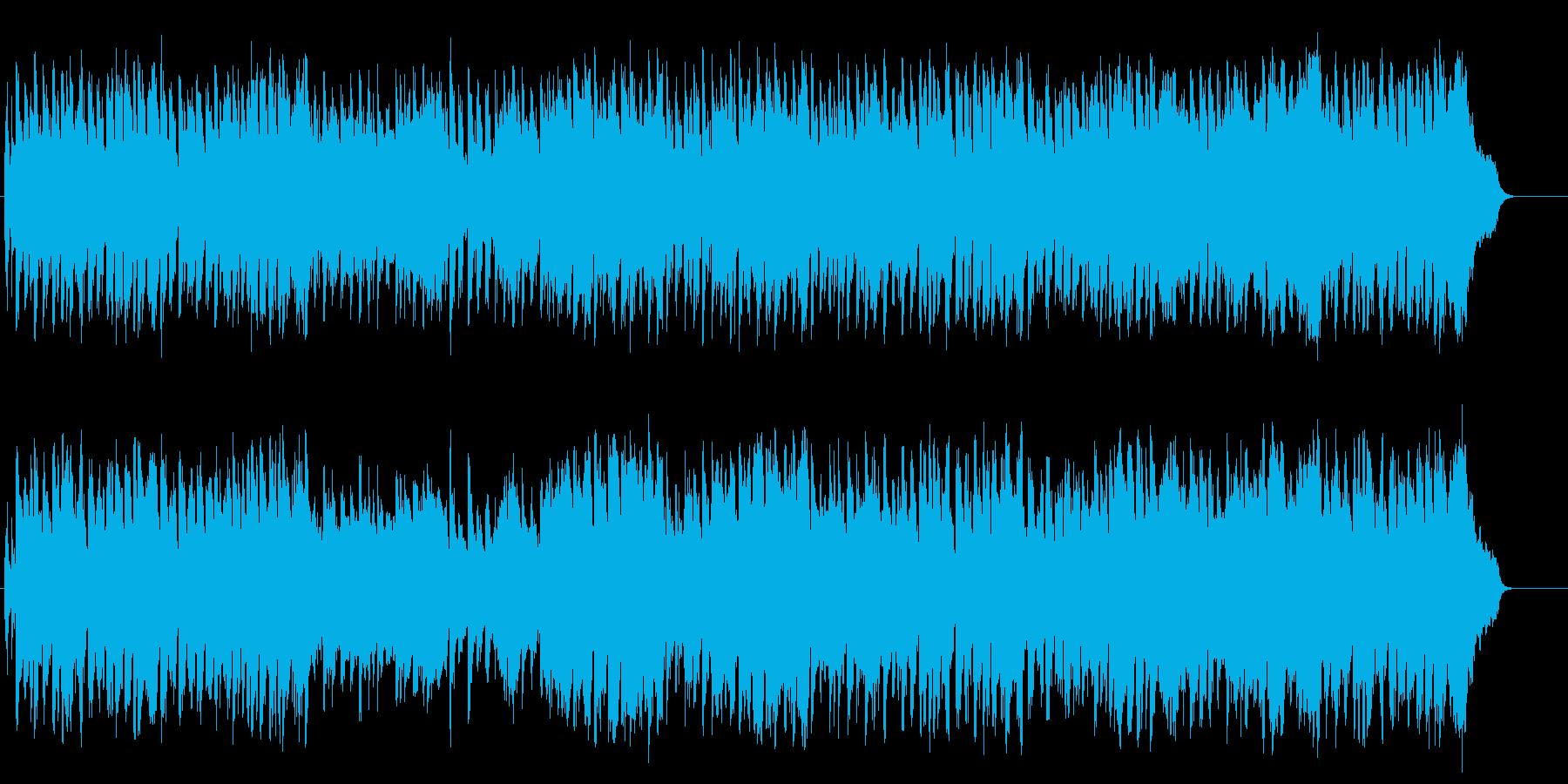 重厚な一大スペクタクル映画風BGの再生済みの波形