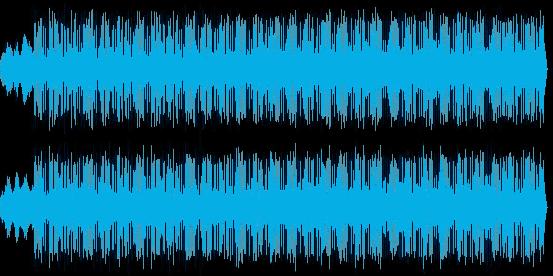 軽快で幻想的なエレクトロニカの再生済みの波形