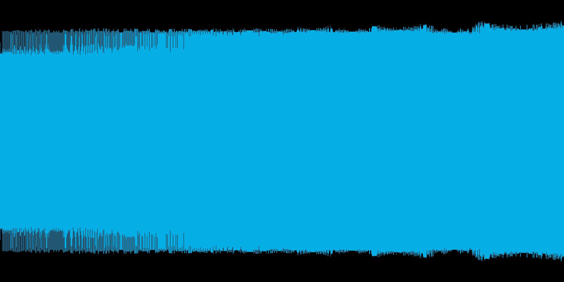 プーーー(警告音)の再生済みの波形