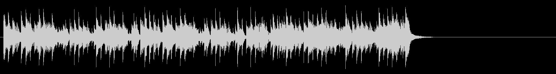 テーマパーク向けポップ(Aメロ)の未再生の波形