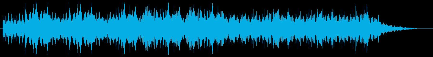 ポジティブ&希望をイメージして作ったピ…の再生済みの波形
