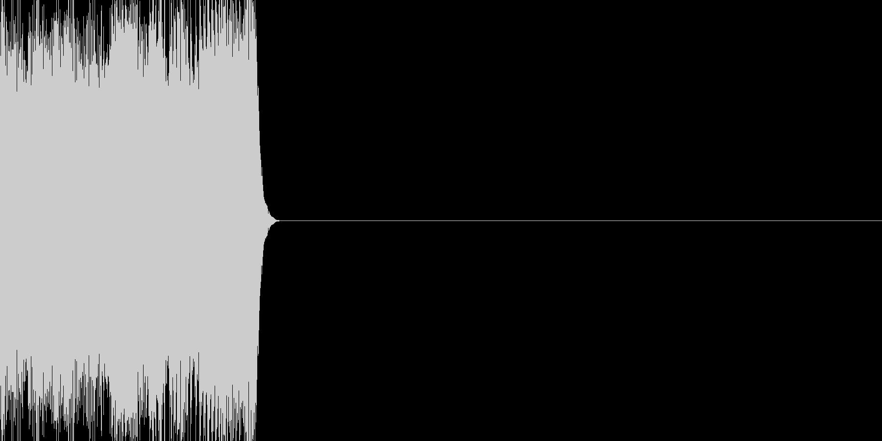 ノイズ(ギィィイイイ)の未再生の波形