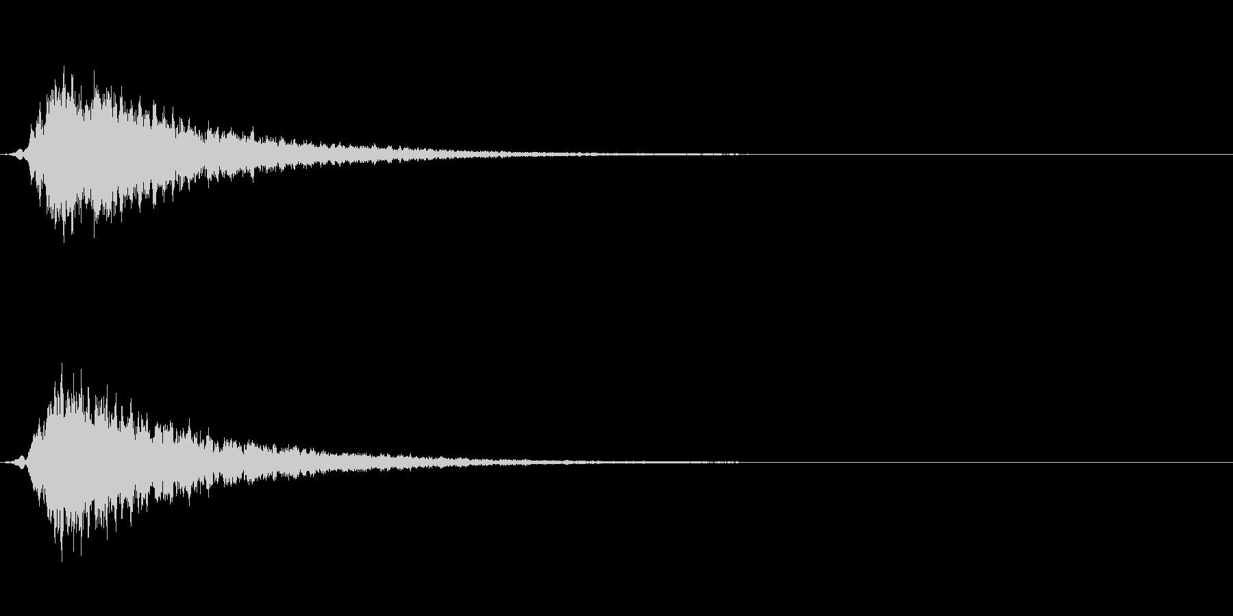 高級 エレガント キーン ピーン の未再生の波形