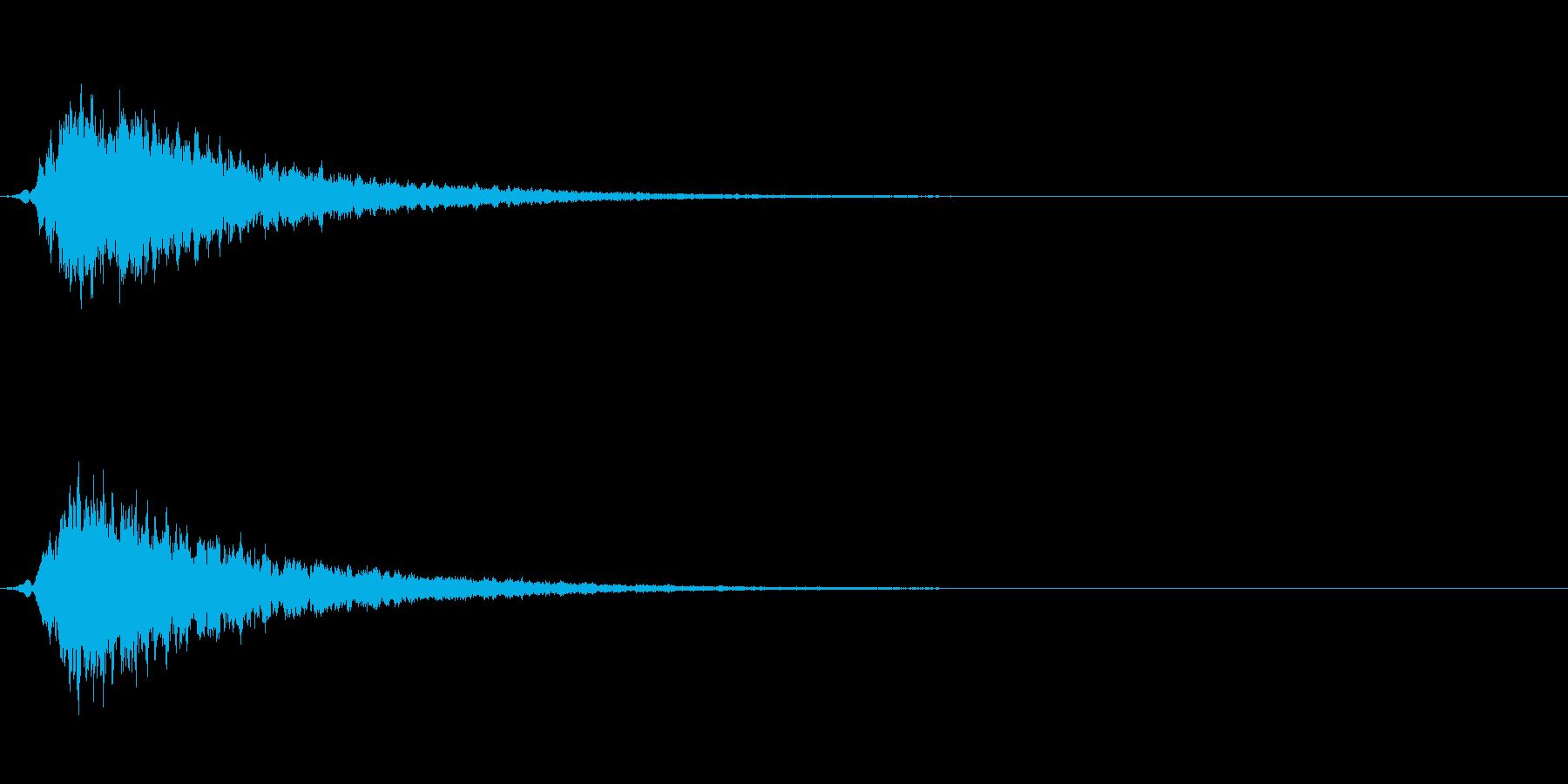 高級 エレガント キーン ピーン の再生済みの波形