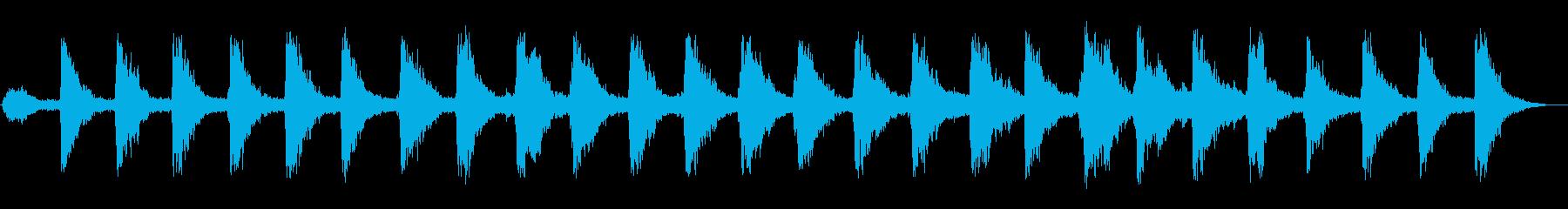 シャンシャン・・・(スレイベルの音)の再生済みの波形
