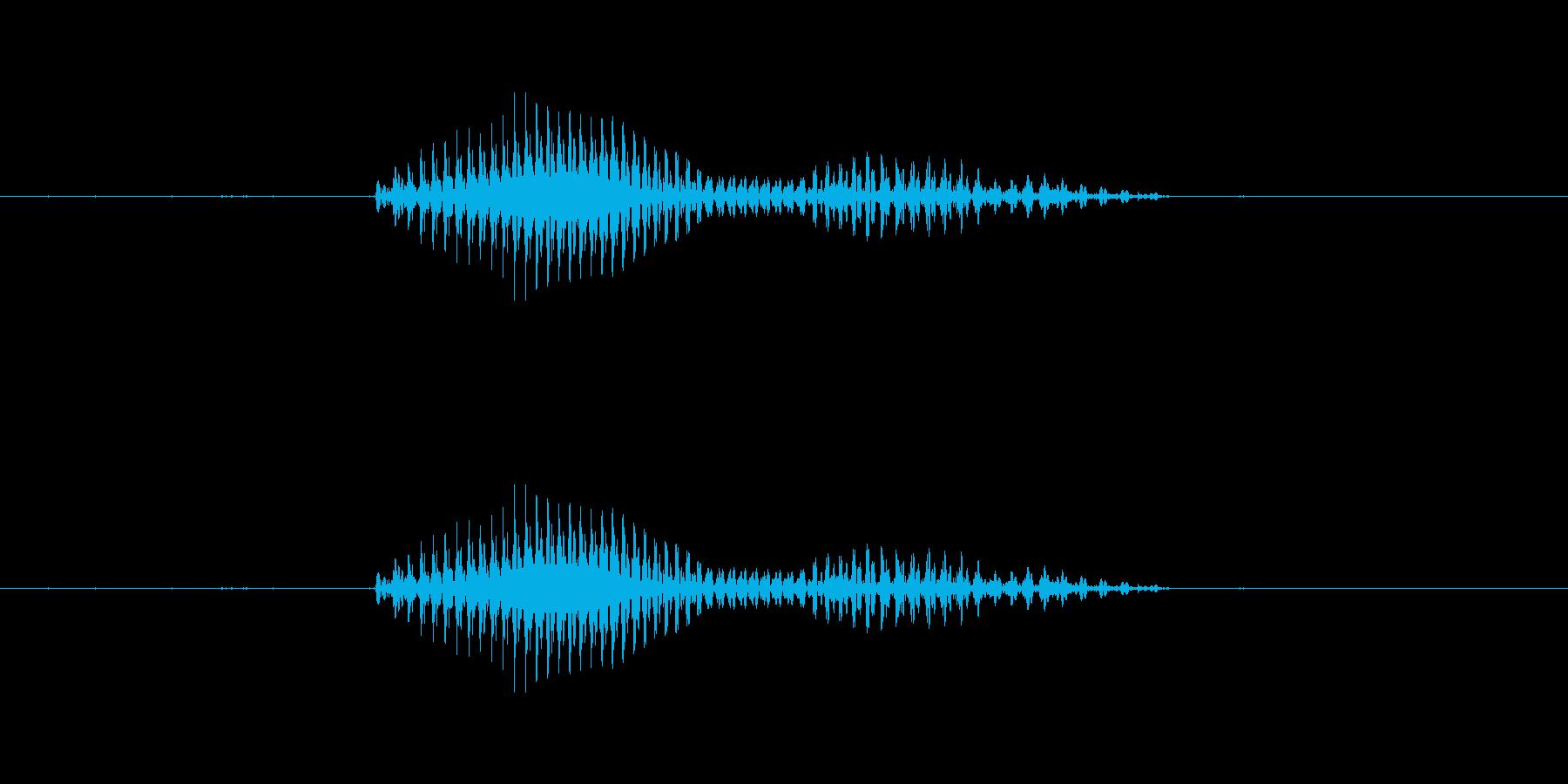 青森(県名)の再生済みの波形