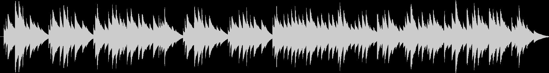 オルゴールの曲で、着信音またはオルゴー…の未再生の波形
