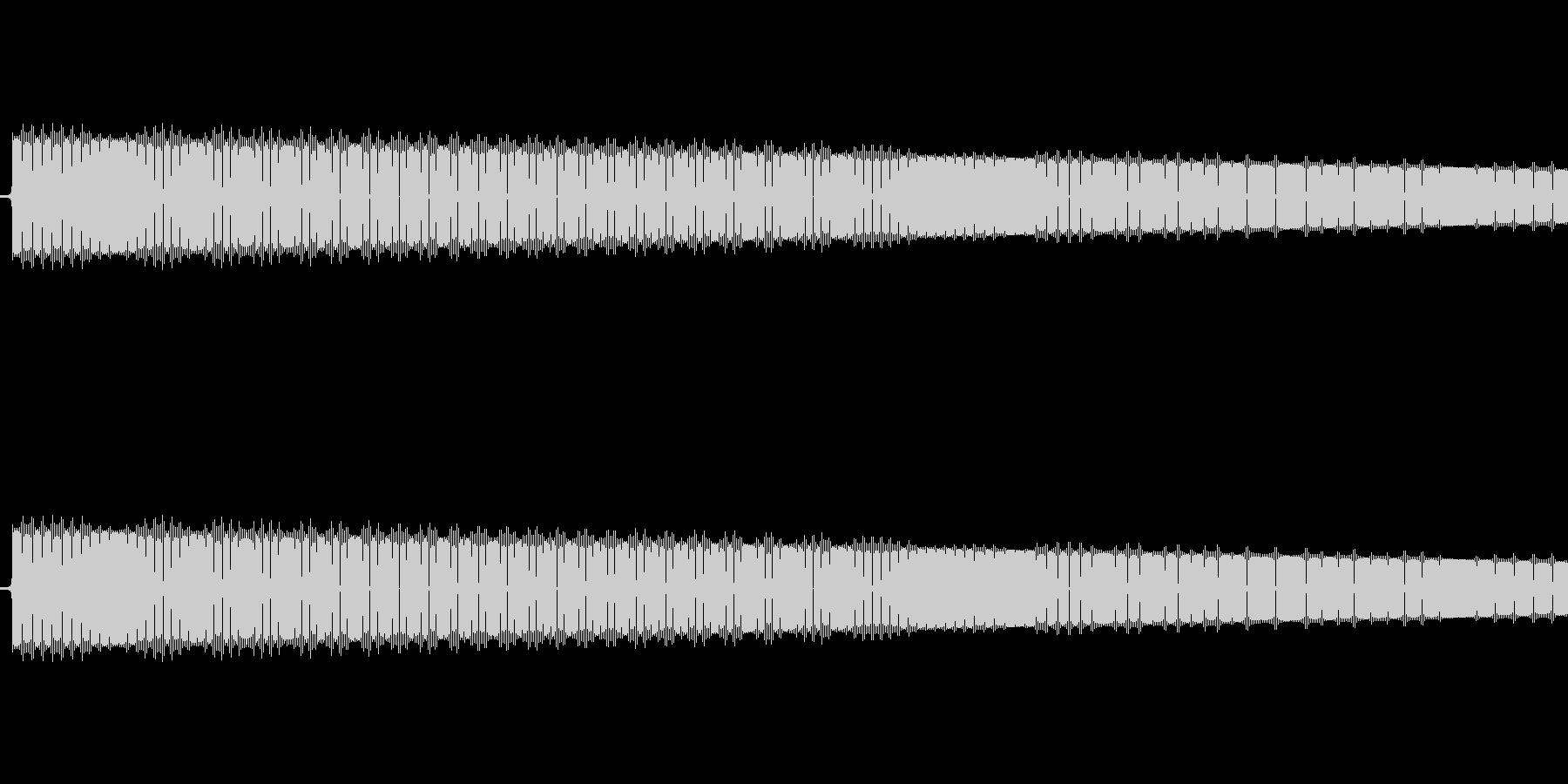 レトロゲーム風ショット音4の未再生の波形