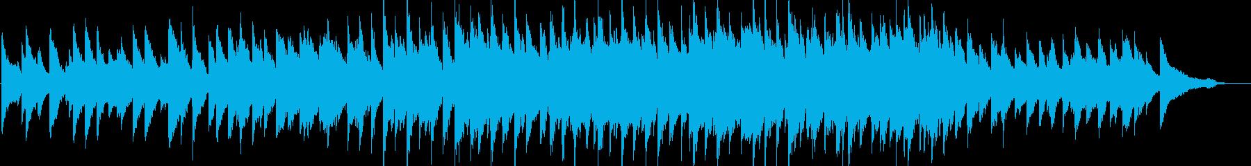 感動・壮大・バラード・ピアノソロの再生済みの波形