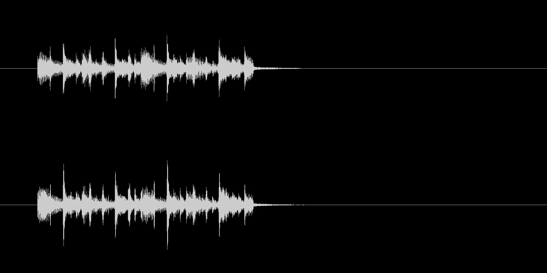 シンセサイザー クール パワフル ベースの未再生の波形
