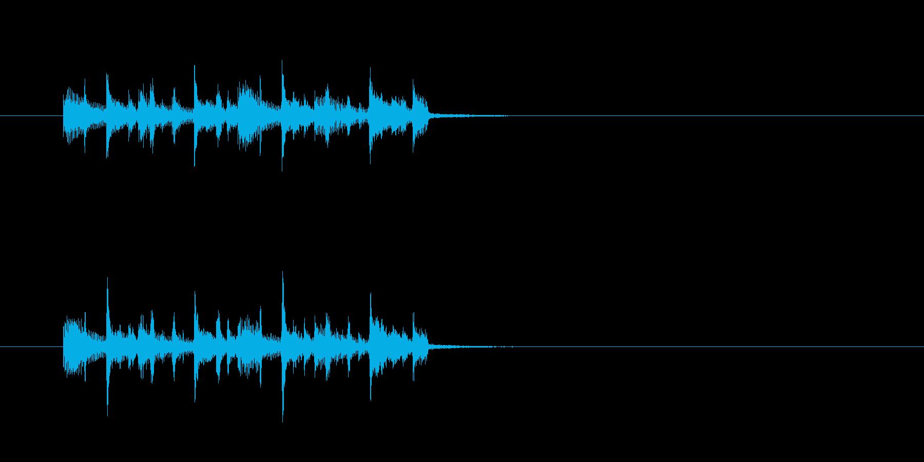 シンセサイザー クール パワフル ベースの再生済みの波形