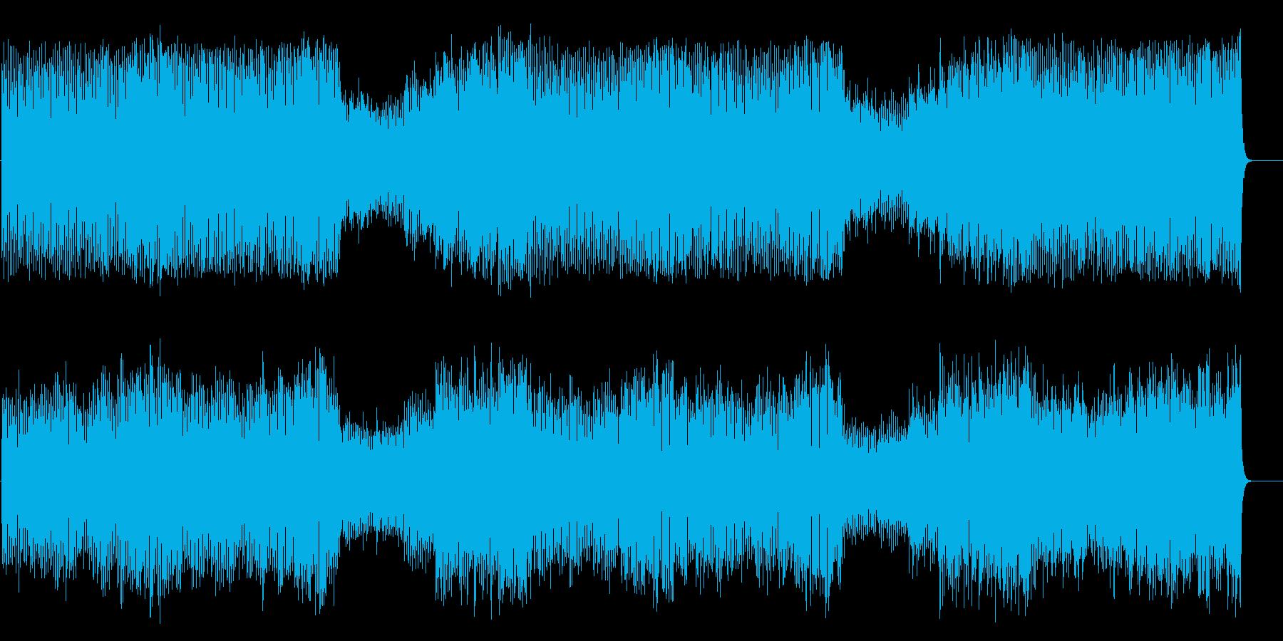 冒険ファンタジー風マイナー・オーケストラの再生済みの波形
