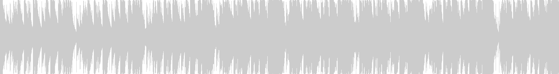 8bitチューンのRPG風楽曲1の未再生の波形