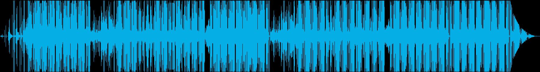 黒いTrapならコレの再生済みの波形