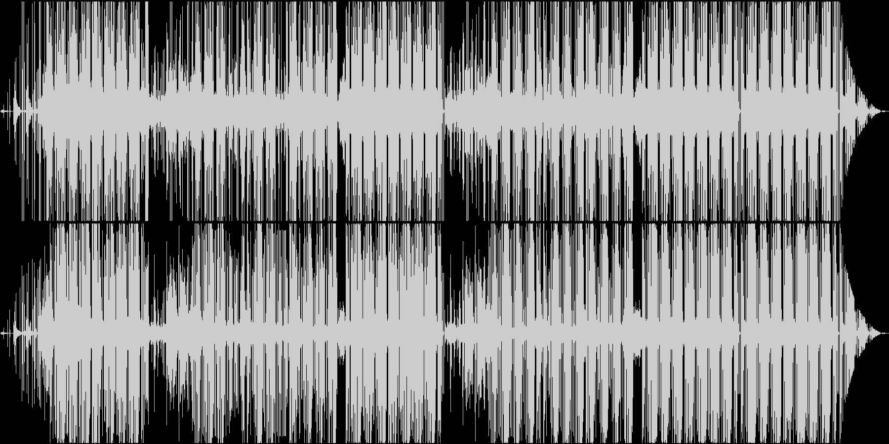 黒いTrapならコレの未再生の波形