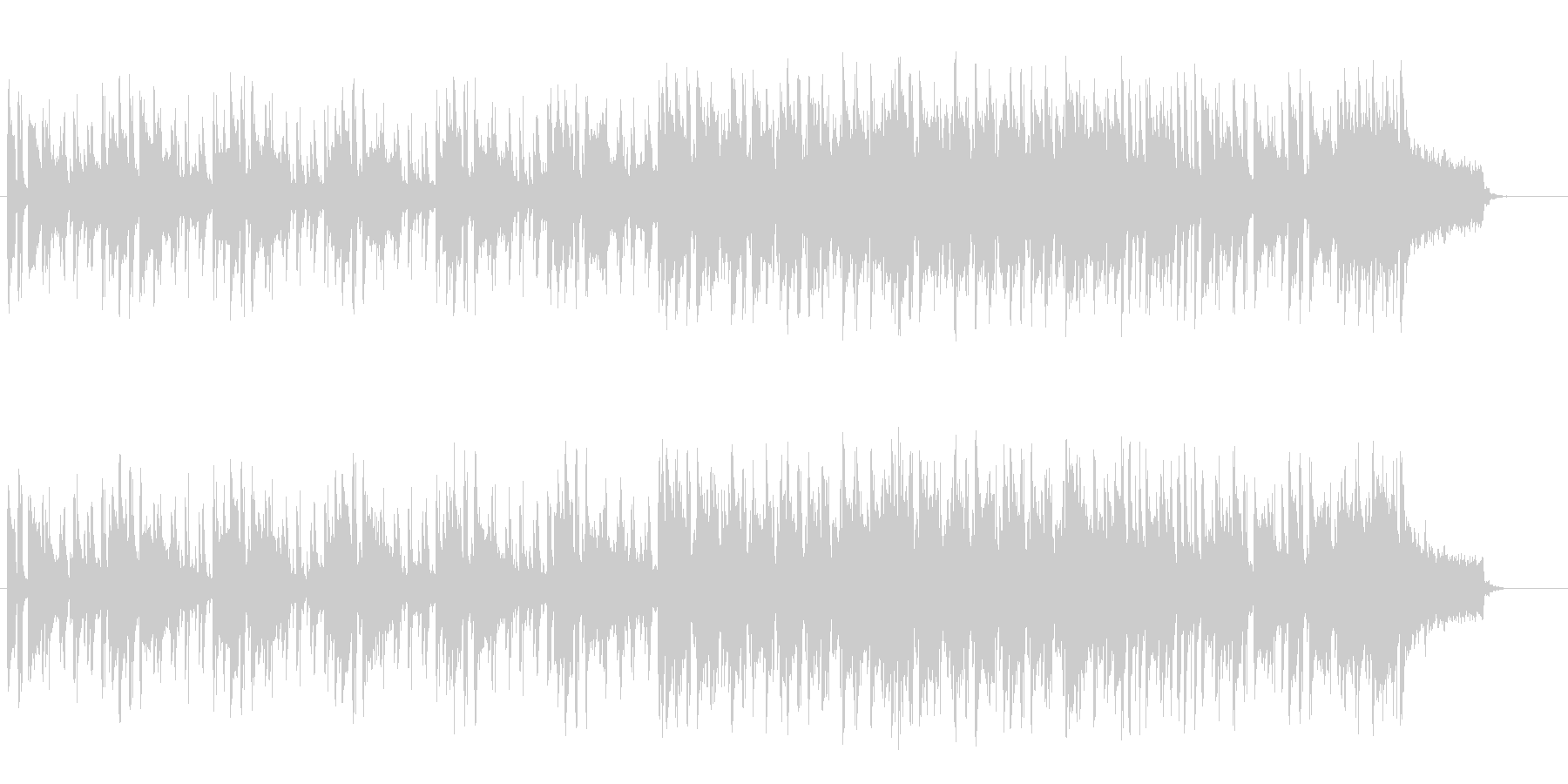 洗練されたシックなトワイライト・バラードの未再生の波形
