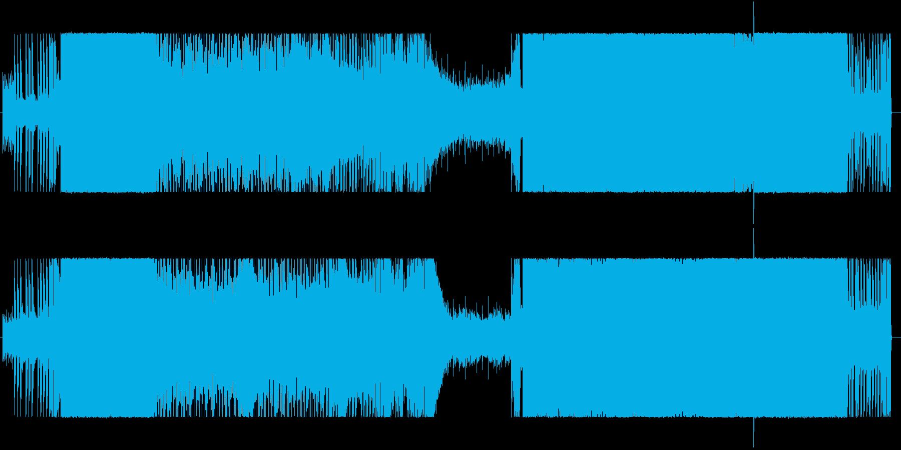 ゲームやアニメに合う和風ロックの再生済みの波形
