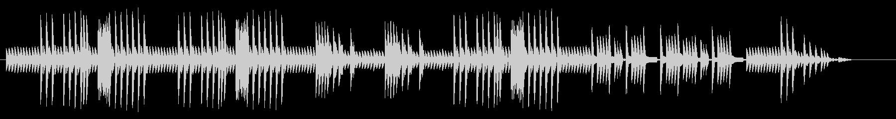 8bitクラシック オリエンタルの未再生の波形