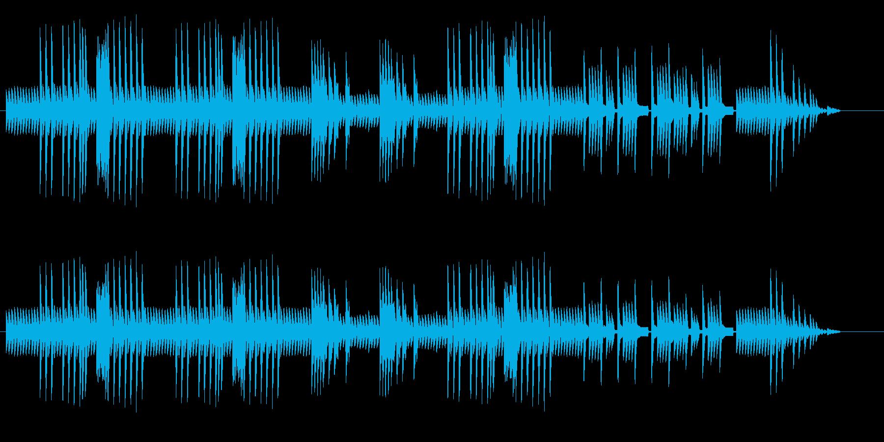 8bitクラシック オリエンタルの再生済みの波形