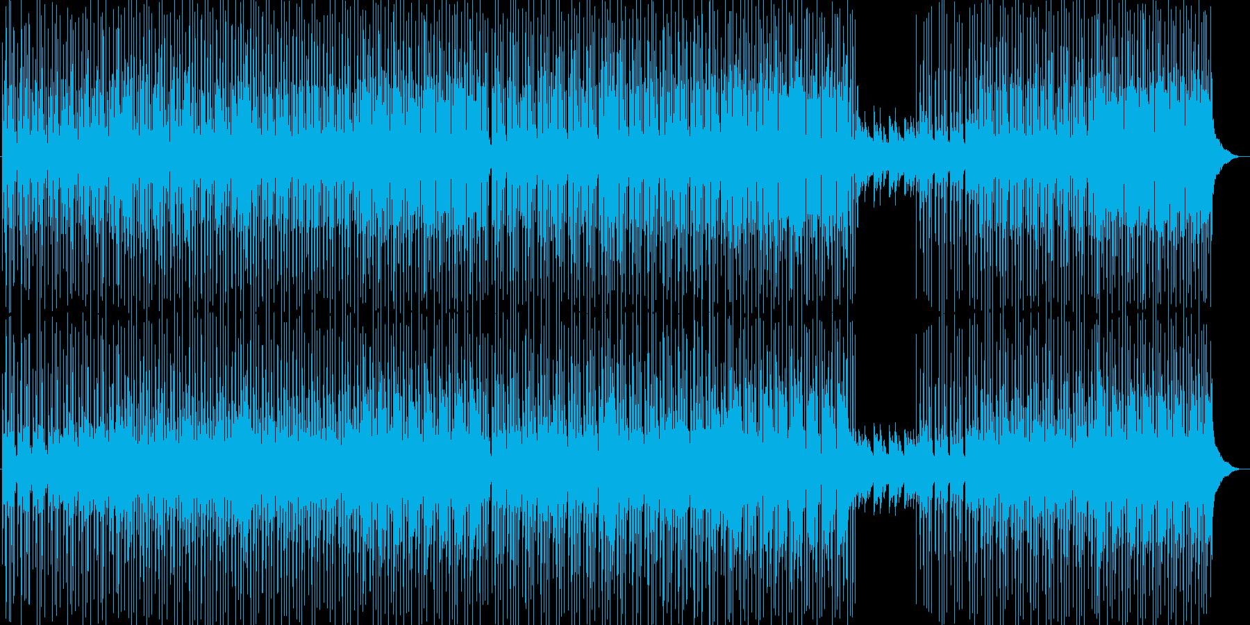 メロウで切ない夏R&Bヒップホップ夕暮れの再生済みの波形