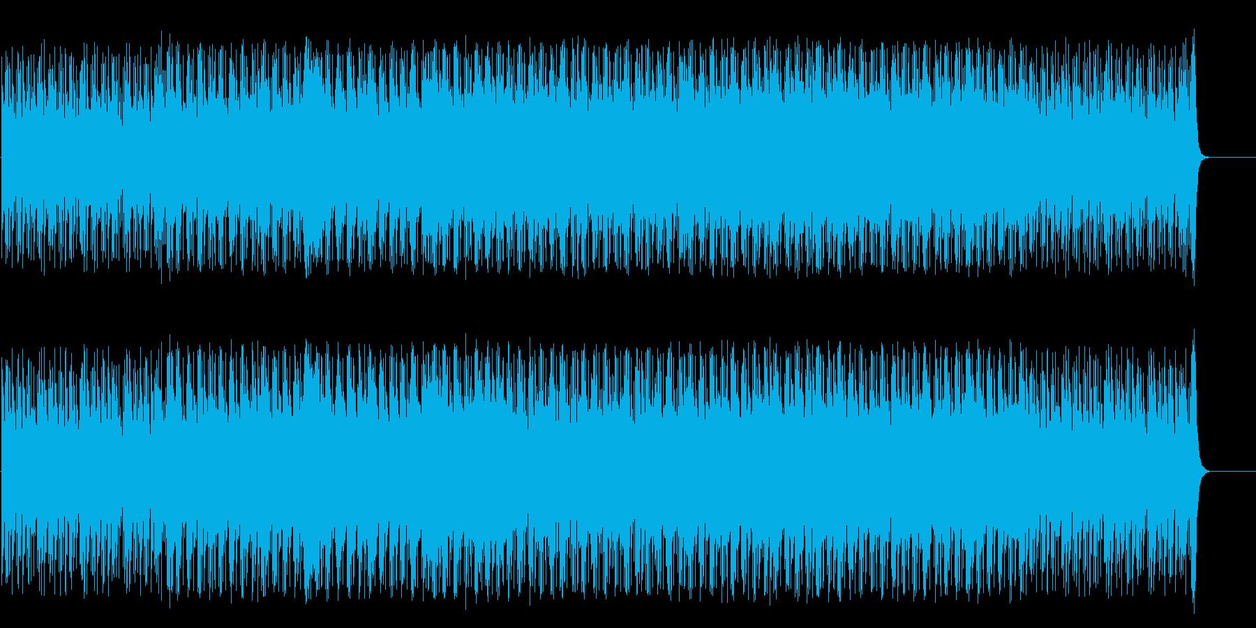 圧迫感のある重々しいポップ/マイナーの再生済みの波形
