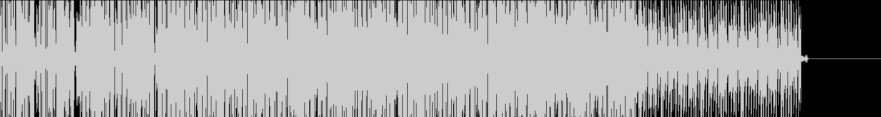 【TV・ラジオ】フラットなシーケンスBGの未再生の波形