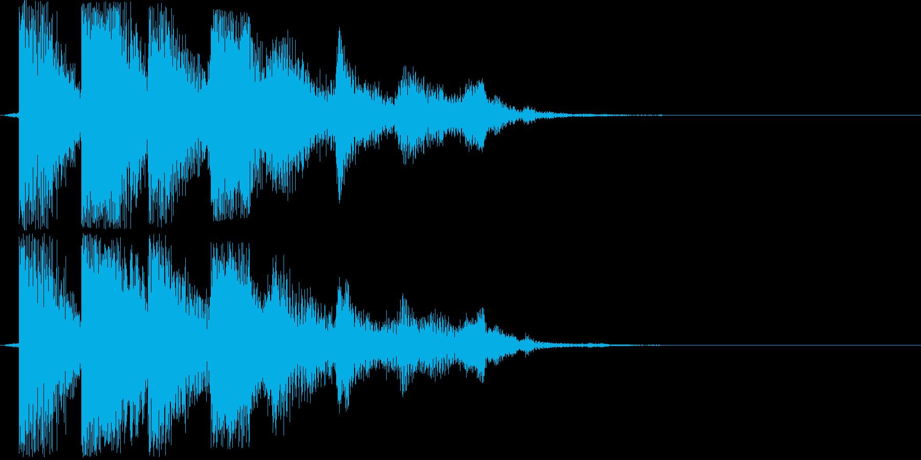 ピロリン!(アイテム獲得)の再生済みの波形