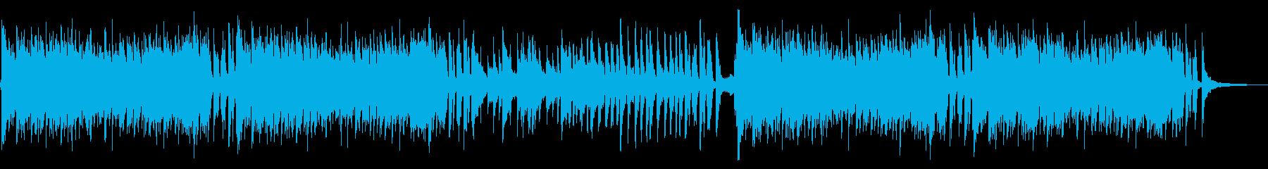 おしゃれメルヘンなアコースティックポップの再生済みの波形