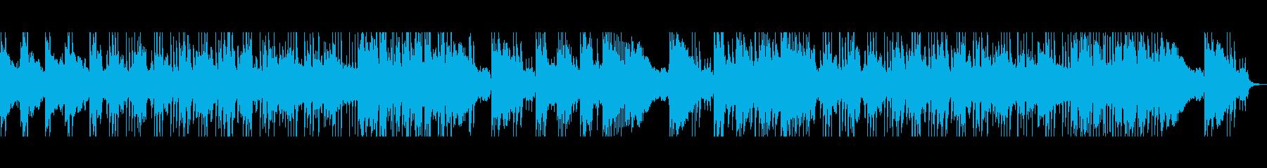 オシャレ大人な雰囲気リズムBGMの再生済みの波形