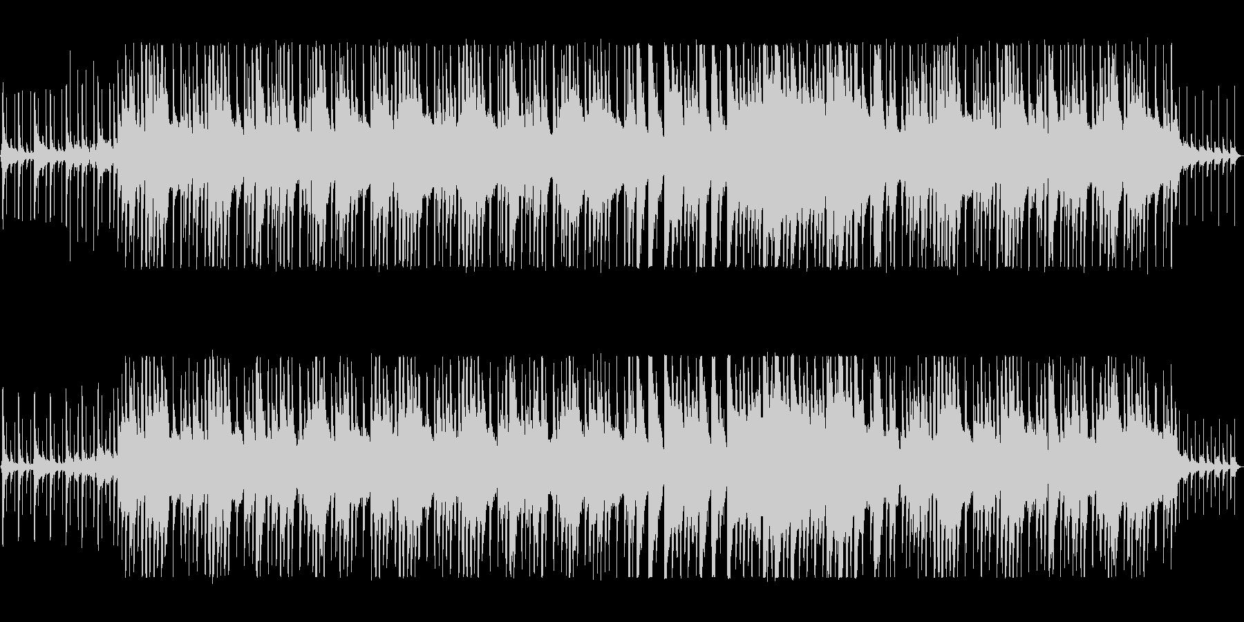 リズミカルでほのぼのとしたポップスの未再生の波形