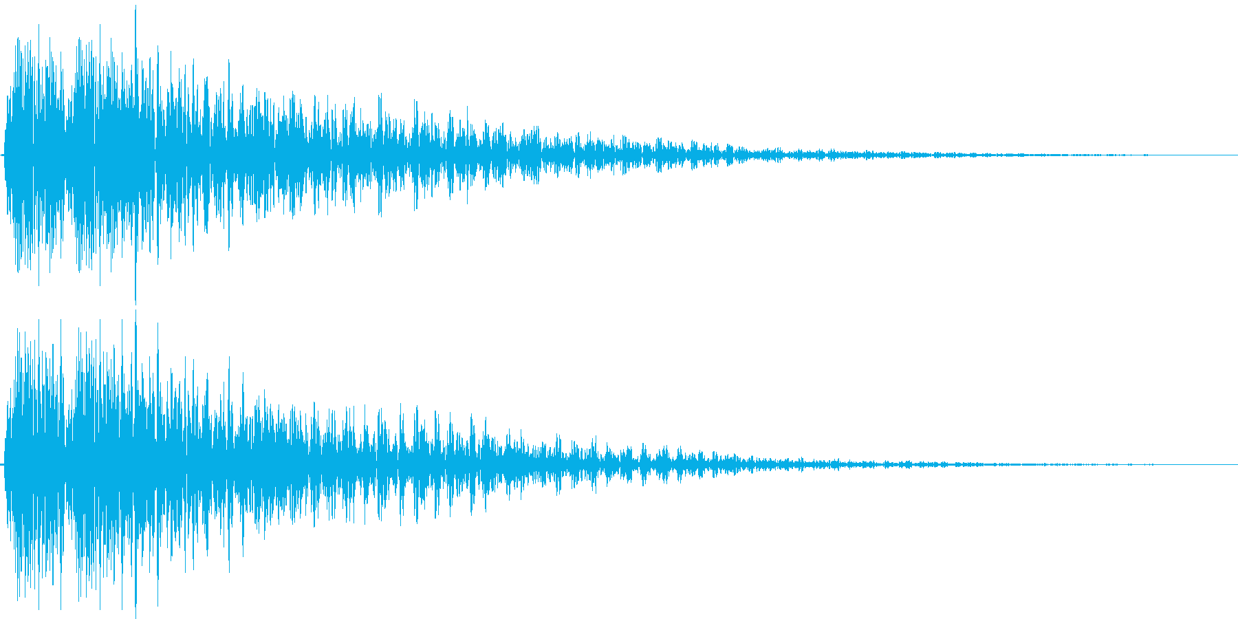 デデーン(強い絶望、レベルダウン、ミス)の再生済みの波形