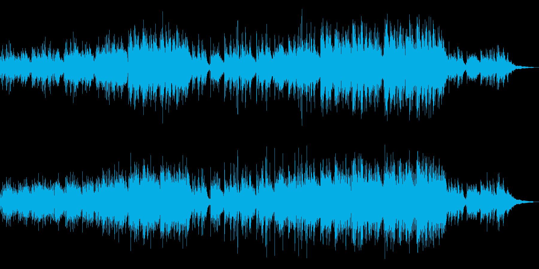 【リズム抜き】ノスタルジックなアコギアンの再生済みの波形