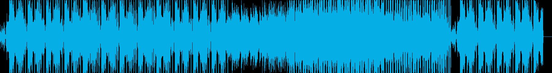 デジタル映像・紹介動画向け/ダブステップの再生済みの波形