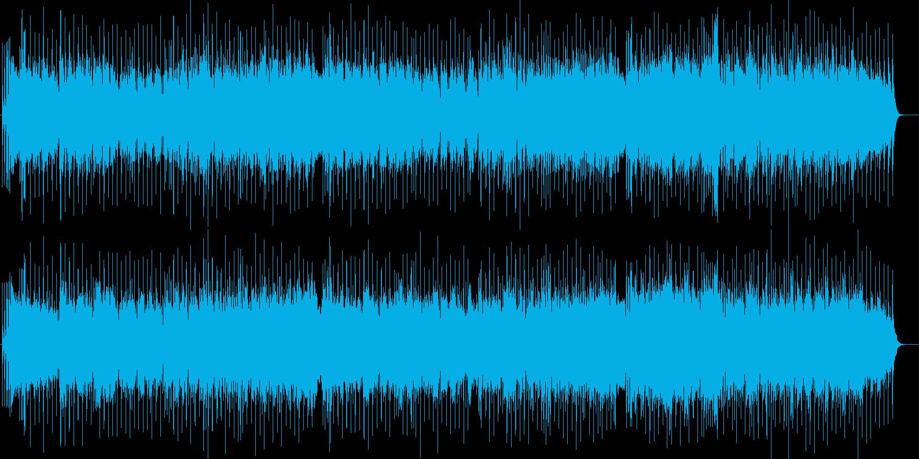 力強い正統派ロック・フュージョン バトルの再生済みの波形