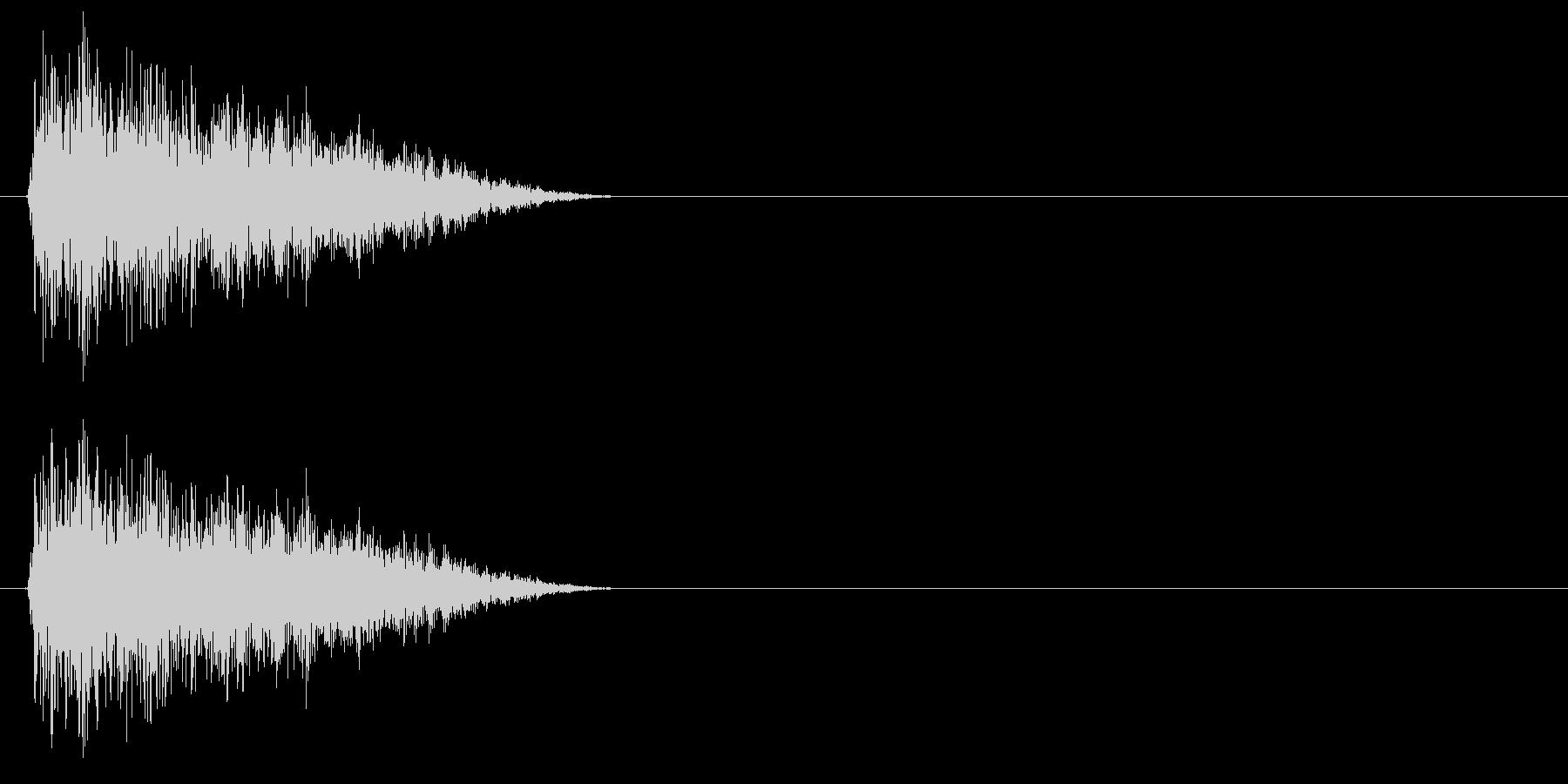 テュイーン↑(STG、パワーアップ)の未再生の波形