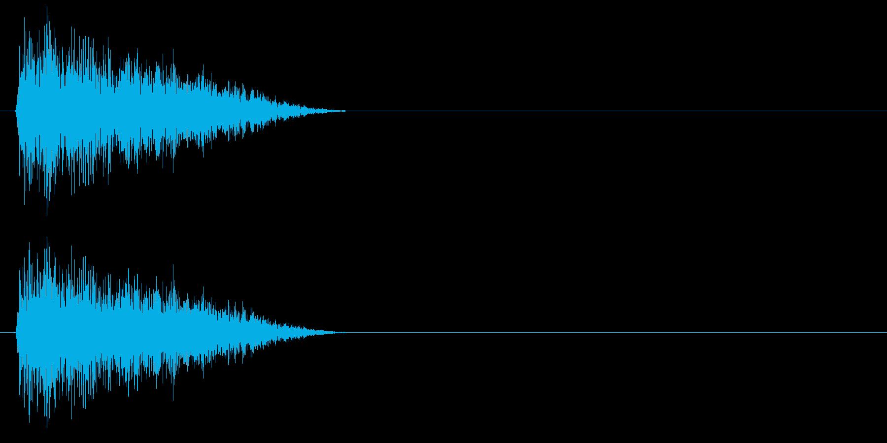 テュイーン↑(STG、パワーアップ)の再生済みの波形