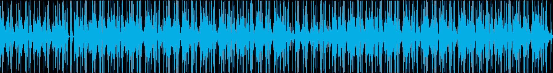 【ループ】穏やかで心地よい春をイメージしの再生済みの波形