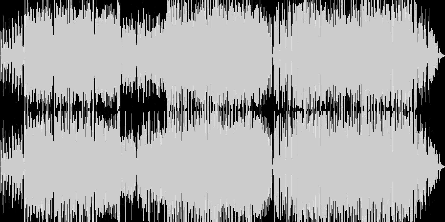 オシャレで高級感があるが、アツいビートの未再生の波形