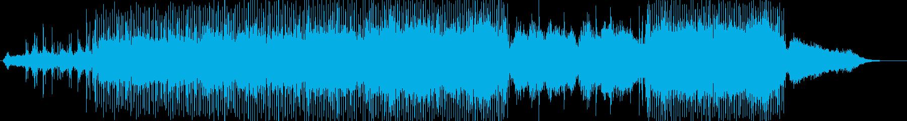 前進感のあるエレクトロニカの再生済みの波形