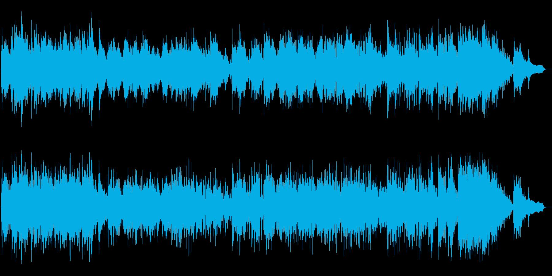 風を感じ感動的なピアノによるバラードの再生済みの波形