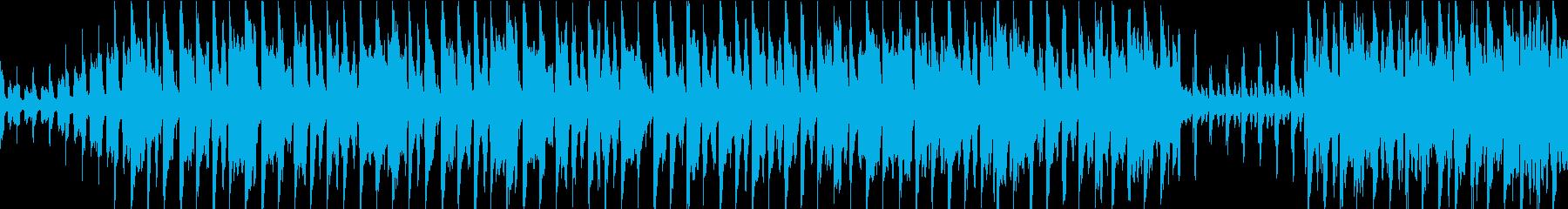 賑やかな中国風のループBGM 二胡・笛子の再生済みの波形