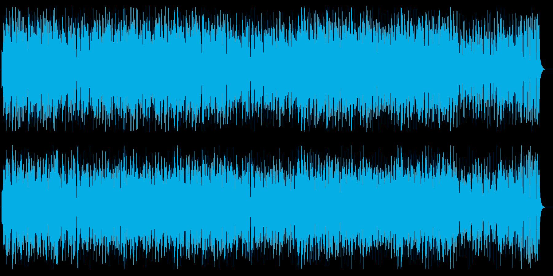 軽快で爽やかなストリングスポップの再生済みの波形