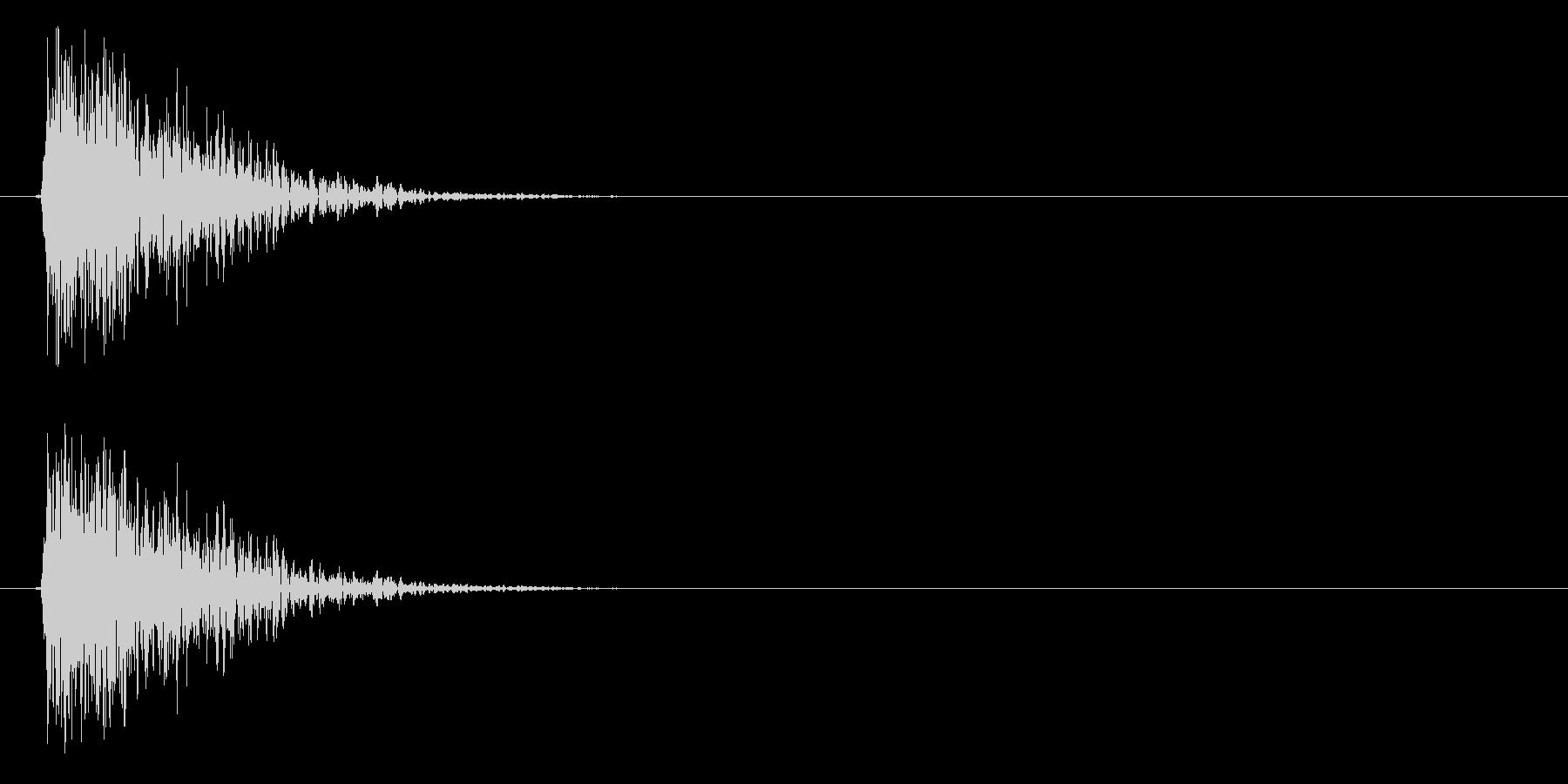 テュン↓(STG、キャンセル、アプリ)の未再生の波形