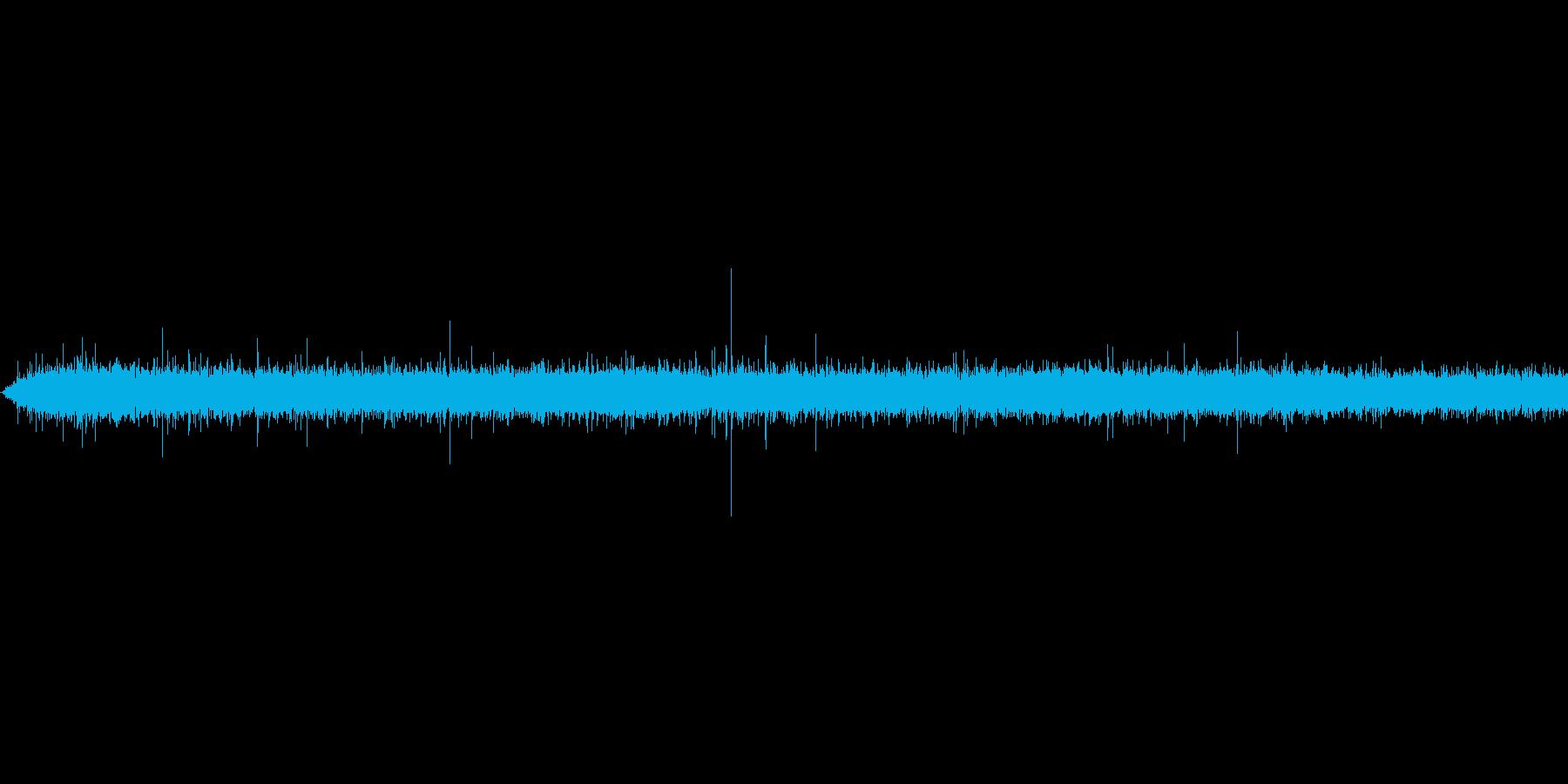 ポチャンの再生済みの波形