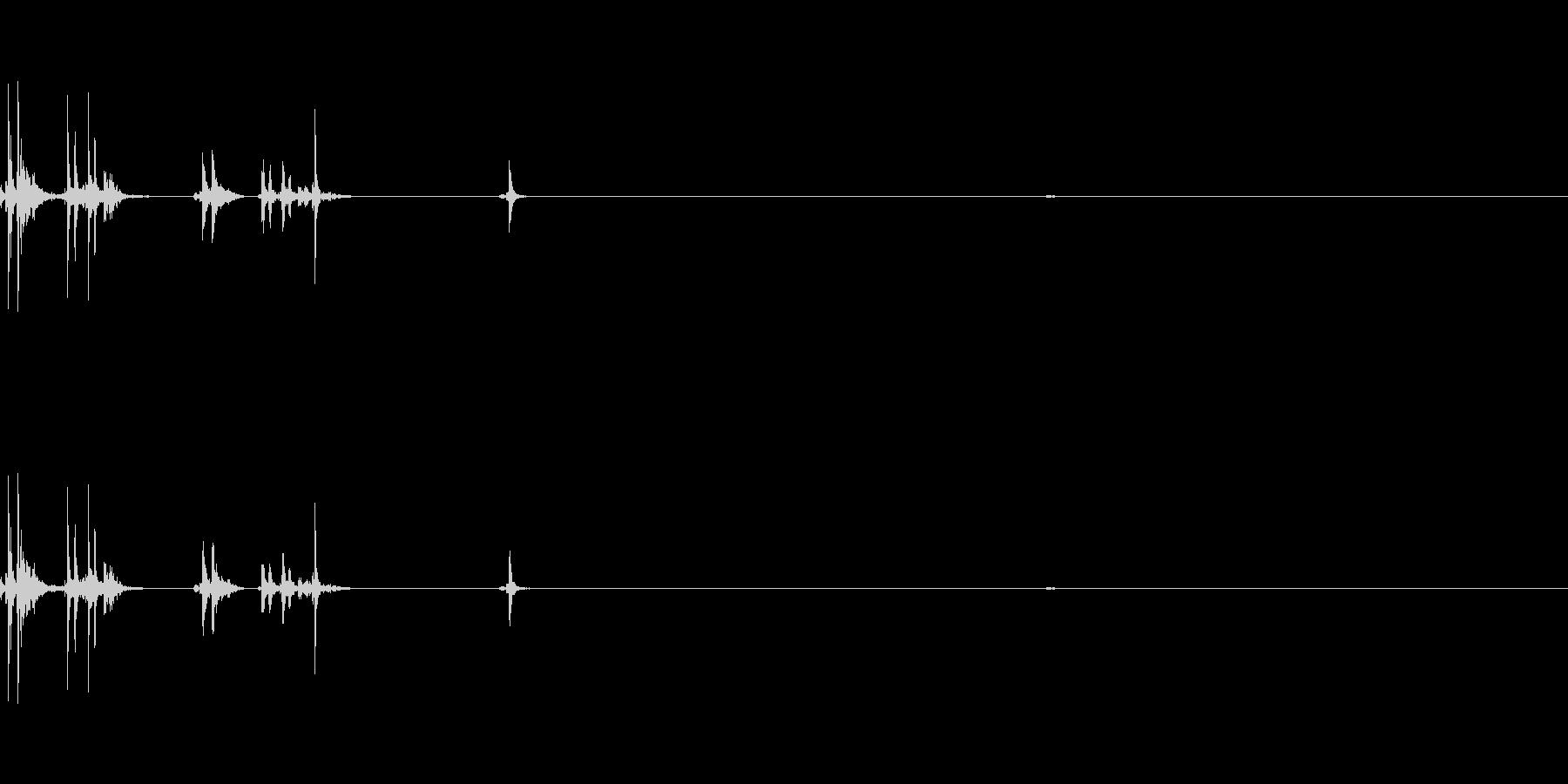 シャッター02(カシャカチ)Var2-3の未再生の波形