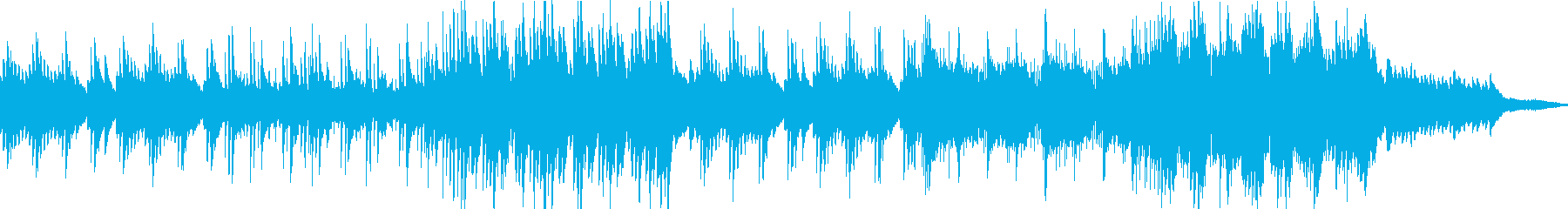 日常系 和風系ほのぼの曲の再生済みの波形