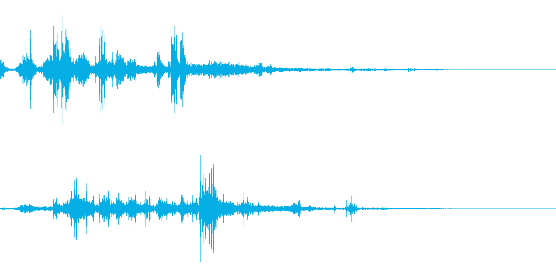 水中音01の再生済みの波形