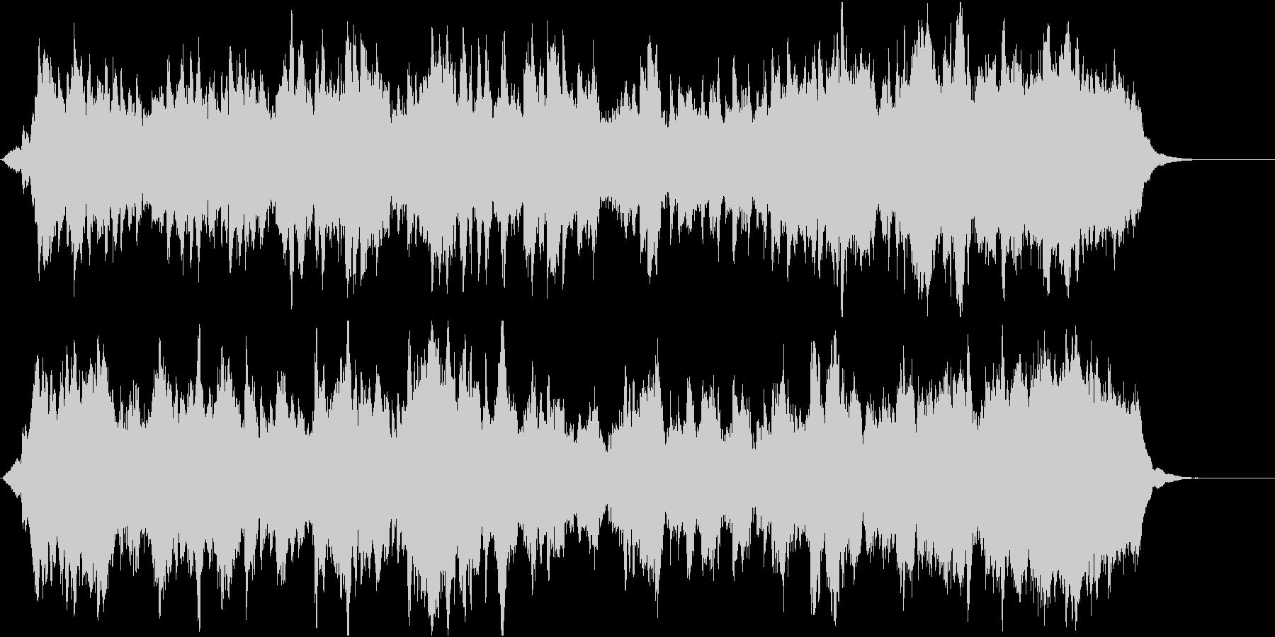郷愁の場面に優しく前向きなオーケストラ3の未再生の波形