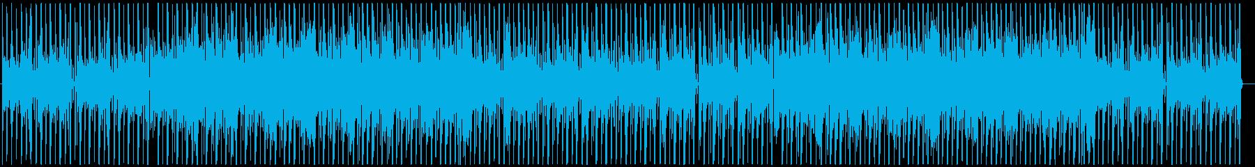 お洒落なジャズHipHop(ラジオ音無しの再生済みの波形
